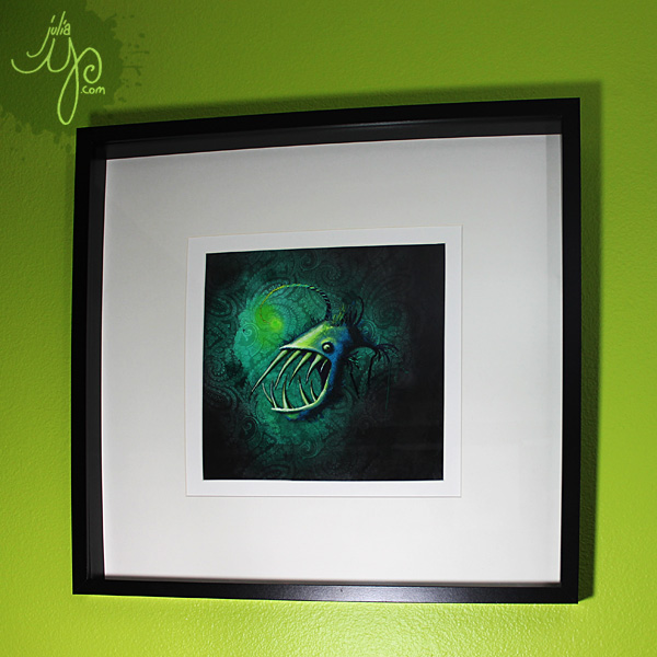 JuliaY-Anglerfish2-framed