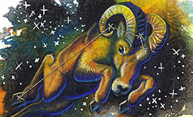 Aries the Ram- Constellation Series