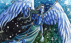 Virgo the Virgin- Constellation Series