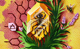 Gemini- Bees & Lavender