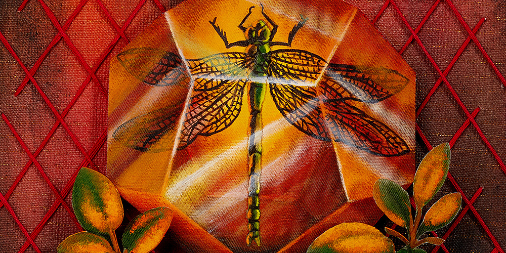 Sagittarius- Dragonfly & Sage