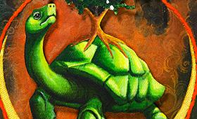 Security- Taurus, Tortoise & Hawthorn Tree