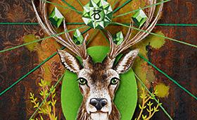 Prosperity- Capricorn, Deer & Thyme