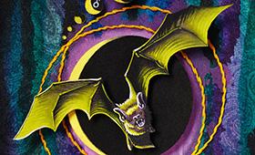 Afterlife- Scorpio, Bat & Marigolds