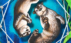 Friendship- Pisces, Otters & Kelp