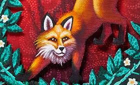 Confidence- Aries, Fox & Blackberries