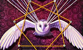 Justice- Libra, Owl & Linden Tree