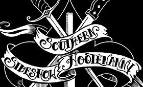 Southern Sideshow Hootenanny T-shirt Design