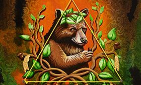 Patience- Taurus, Bear & Hazel Tree